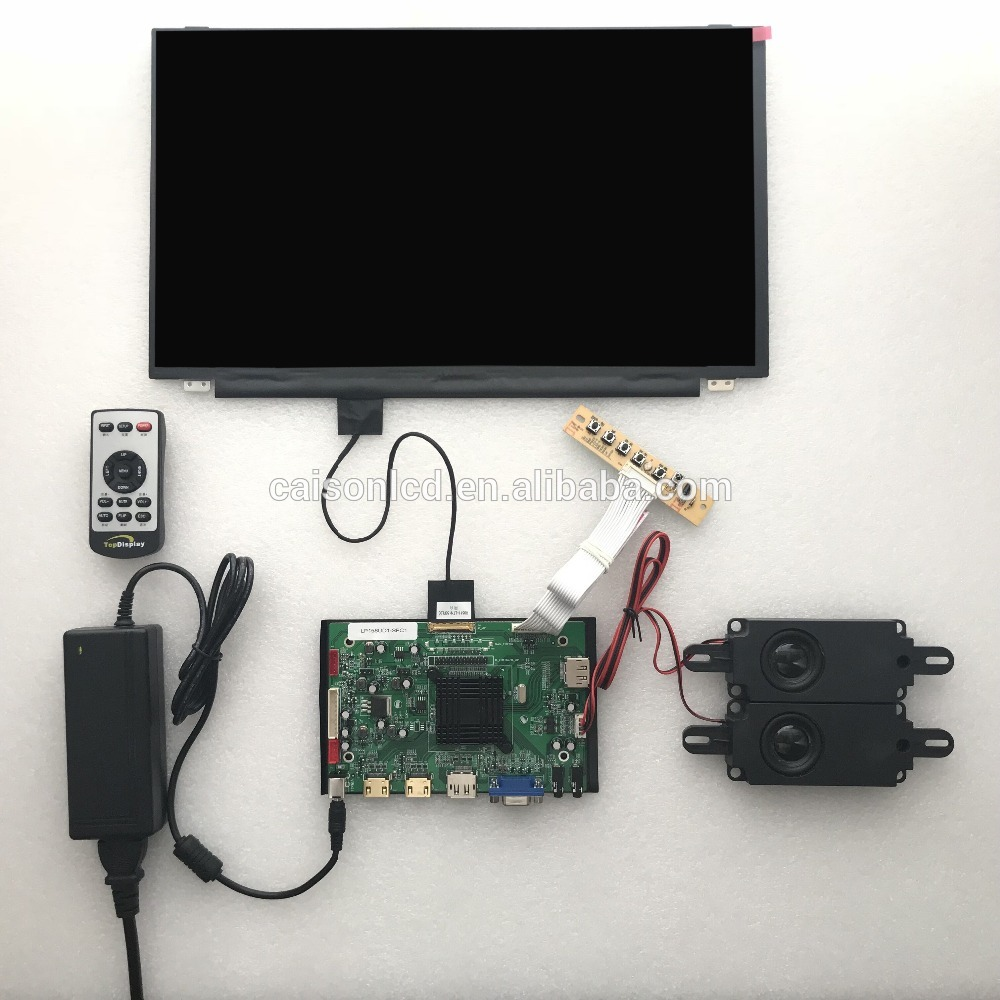2HDMI+VGA+DP+Audio 4K LCD controller board support 15.6 inch lcd panel LP156UD1-SPC1 with 3840*2160 touchstone teacher s edition 4 with audio cd