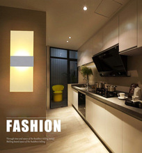 LAIMAIK Modern Led Wall Lamp AC110V/120V Sconce LED Acrylic Wall Lamp Bedroom Bedside Light Living Room Balcony Aisle Wall Lamp стоимость