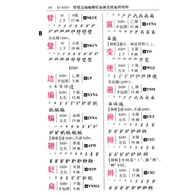 Online Shop Chinese Stroke Dictionary With 4200 Common Chinese