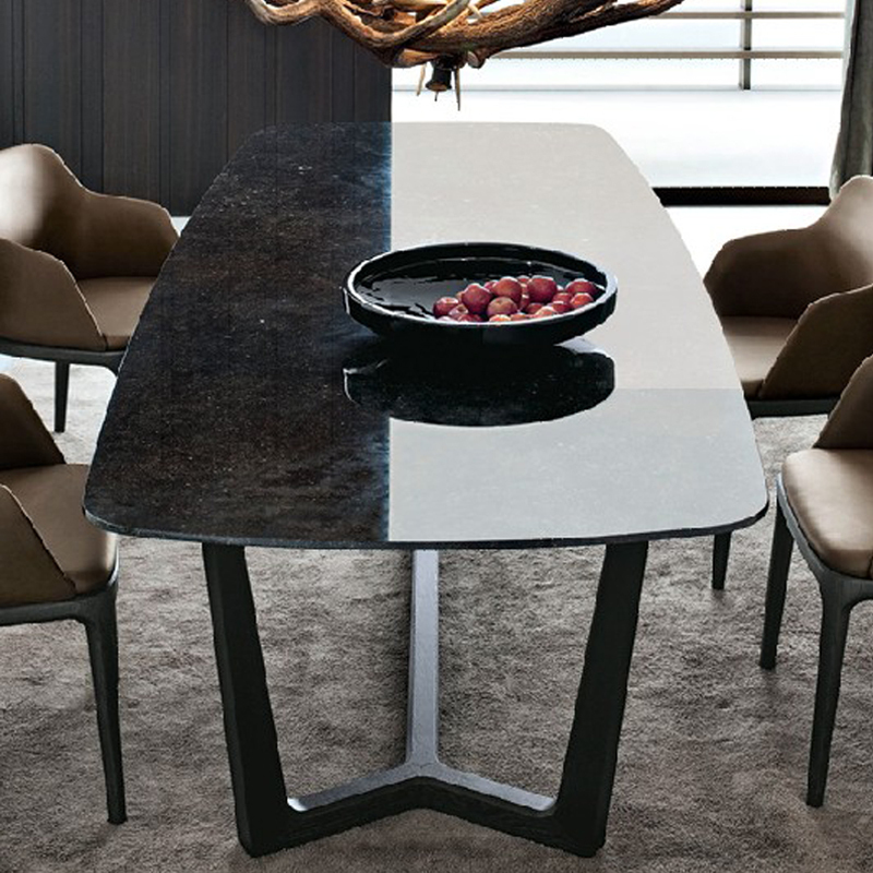 table salle a manger en marbre table de salle manger. Black Bedroom Furniture Sets. Home Design Ideas