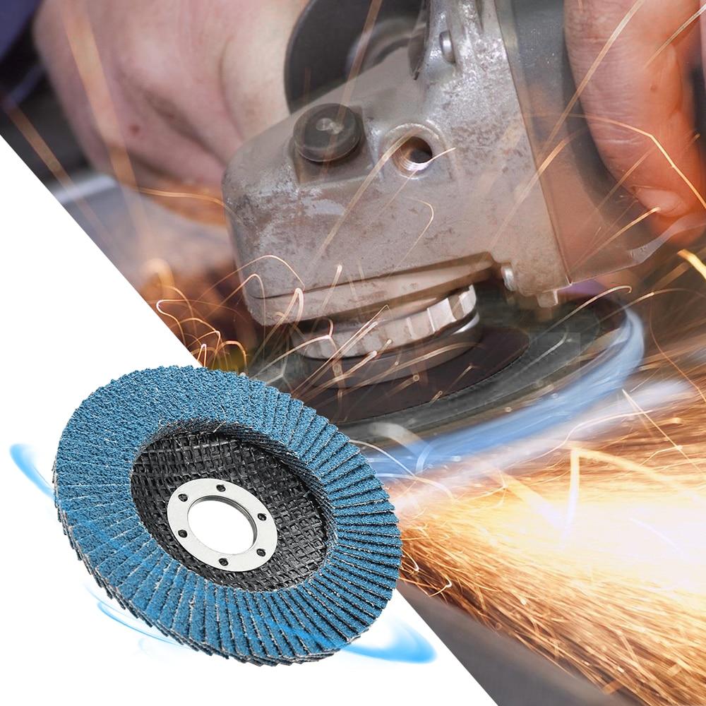 10PCS 125mm Professional Zirconia Flap Discs Sanding Discs 40/60/80/120 Grit