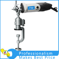 360 Degree Aluminum Alloy Swivel Bench Clamp Vise Grinder Holder Electric Drill For Rotary Tool