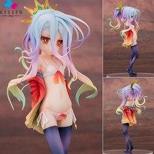 Kissen No Game No Life Aquamarine Game Life Anime Action Figure Anime Figure PVC Figure