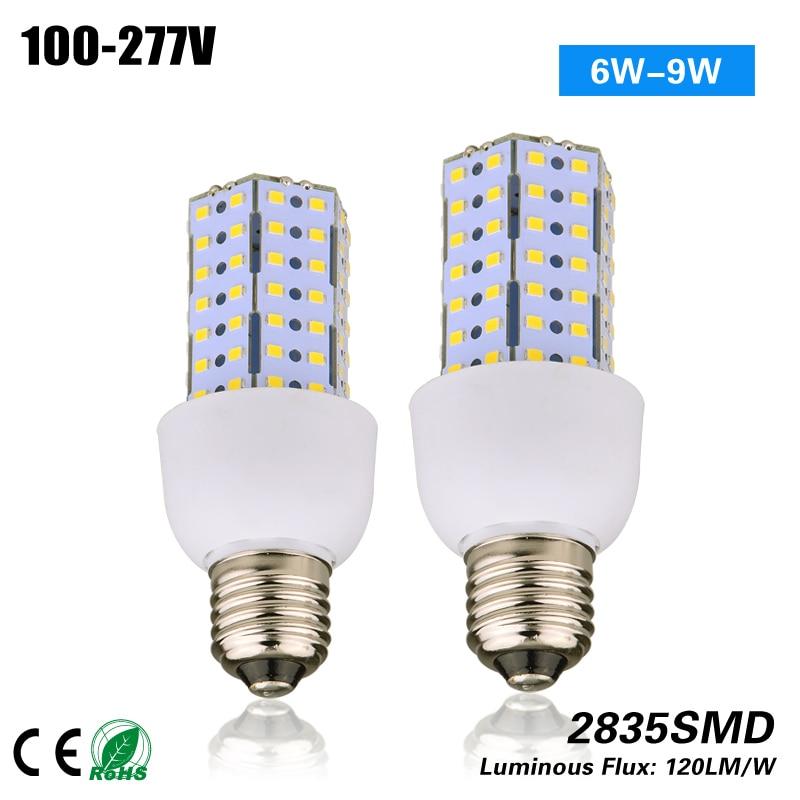free shipping 6w 9w e27 g24q g24d gu24 gx23 led corn bulb light for indoor light - Gu24 Led