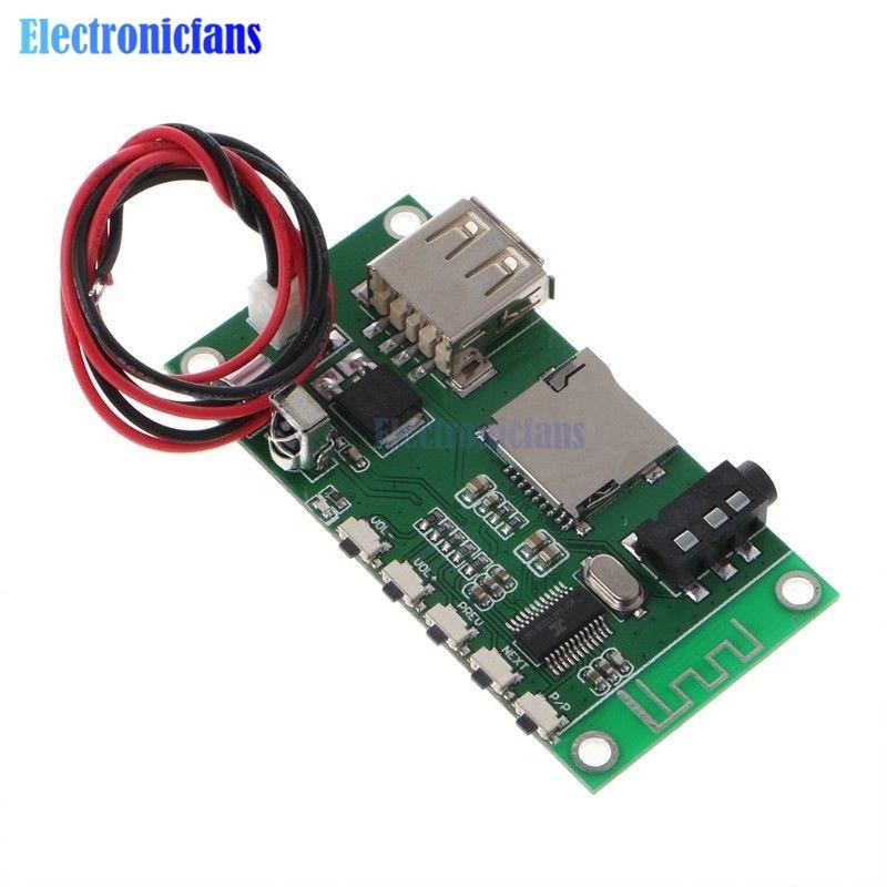 KCX BT001 Wireless Bluetooth 4.2 Receiver Module Circuit Board Stereo