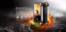 Качество Blackview BV6000 Водонепроницаемый смартфон 4.7 дюймов HD Экран MT6755 Восьмиядерный Android 7.0 3 ГБ Оперативная память + 32 ГБ Встроенная память + 13MP Cam OTG GPS