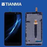 2018 NEW Tested 6 1280x720 LCD For Nokia Lumia 1320 Display Touch Screen For Nokia 1320