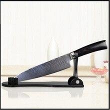 Very sharp 7″inch chef knife Imitation Japanese Damascus steel Filleting Knife kitchen knives Utility Santoku Cleaver gift Knife