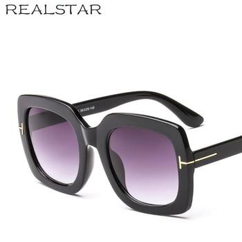 REALSTAR 2018 Mode TOM Marke Designer Sonnenbrille Frauen Vintage Luxus Hohe Qualität Sonnenbrille Weibliche Shades Oculos S590