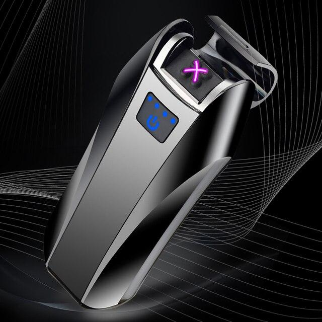 Jiju 778v Uk Arc Lighter Tesla Double Cross Usb Electric Dual Electronic Eco Friendly Whole Windproof