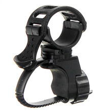 360 Swivel Cycle Bicycle Cycle Bike Front Torch Mount LED Head Light Holder Clip Rubber For 20-45mm Diameter Flashlight
