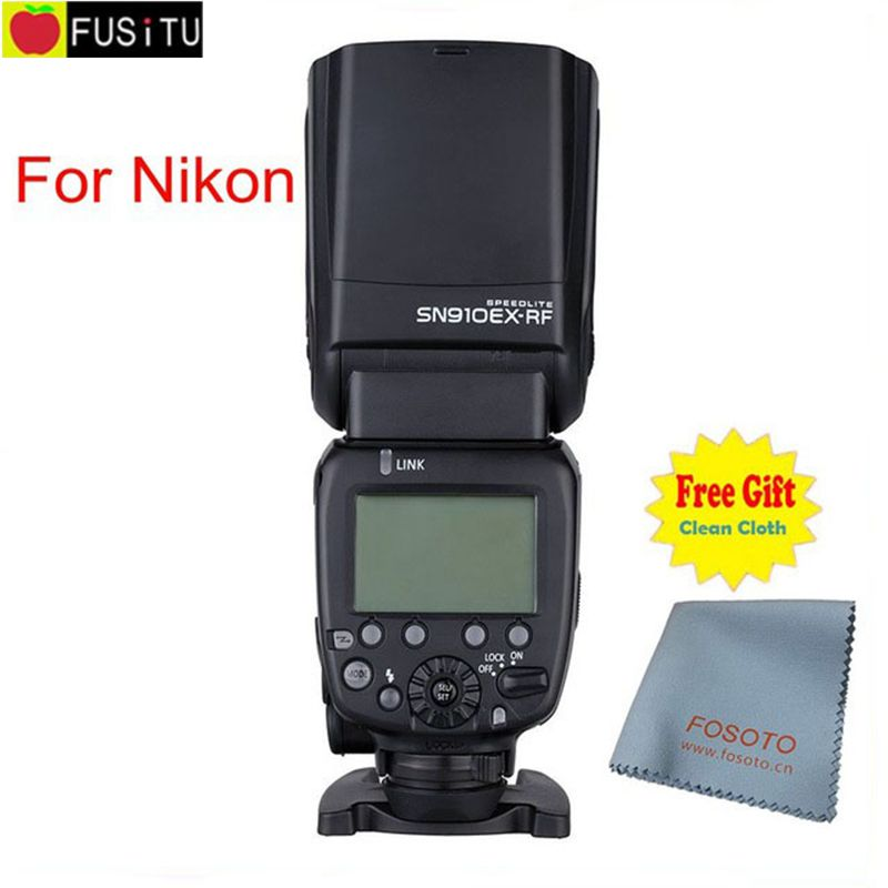 Nyaste Shanny SN910EX-RF 2.4G Trådlös Radio Master Slave I-TTL - Kamera och foto