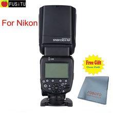 Date Shanny SN910EX-RF 2.4G Sans Fil Radio Maître Esclave je-TTL Flash Flash pour Nikon