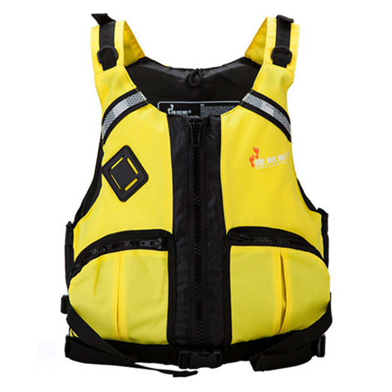ФОТО Professional Safety Life Jacket Foam Float Vest For Adult Water Ski Sports Surfing Rafting Boat Fishing Sailing