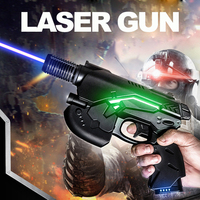 Oxlasers 445nm 450nm 3 Вт синий лазерный пистолет лазерная указка лазерное ружье Фокусируемый горящий лазерный пистолет Бесплатная доставка