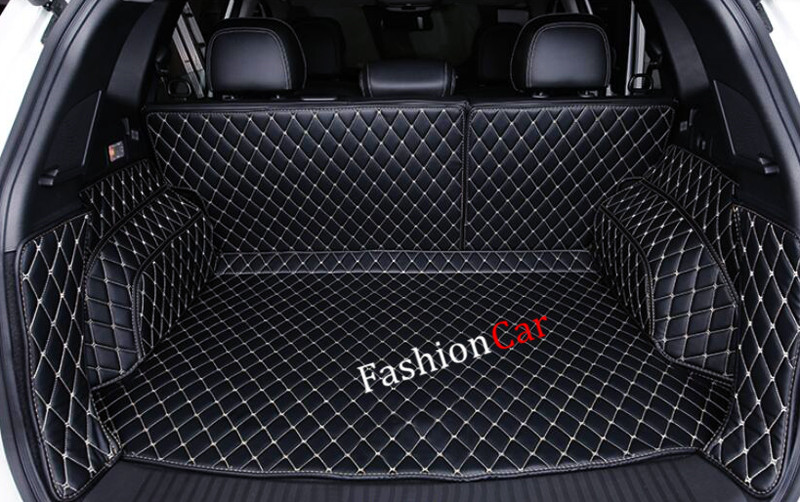 For Renault Koleos 2017 Car Trunk Mat Interior Accessories