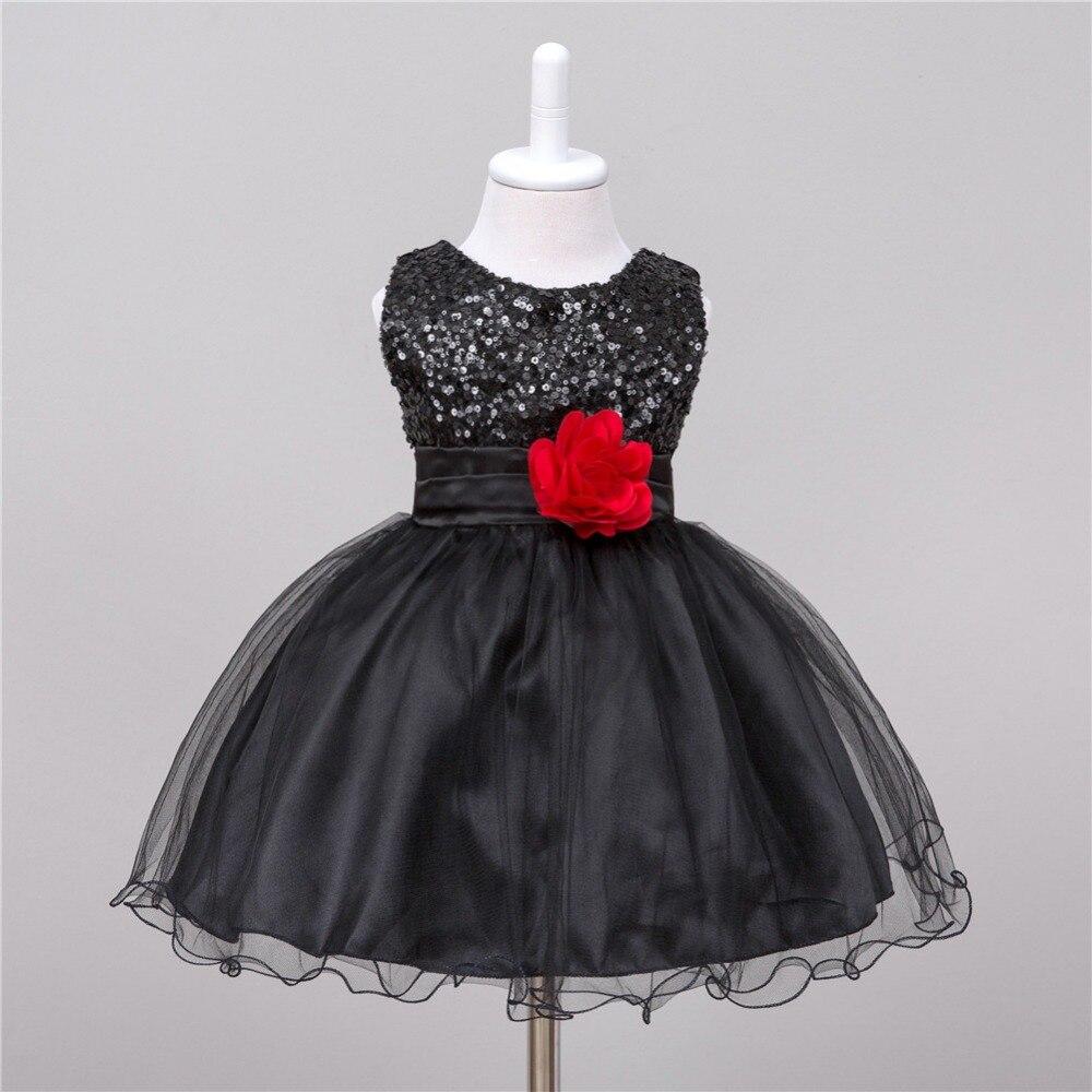 0933aab5a Lentejuelas de verano princesa vestido de fiesta chica flor vestidos para  la boda fantasía Niña Tutu vestido para 3 años