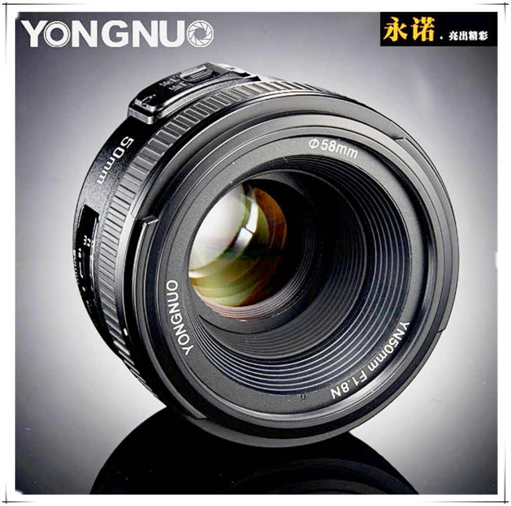 Yongnuo-50mm-F1-8-Standard-Prime-Lens-Auto-Manual-Focus-AF-MF-for-Nikon-Cameras