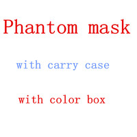 Portable Phantom Training Sport Mask 2.0 For Boxing MMA Gym Outdoor Mask Fitness Supplies Equipment With Carrying Case 3.0