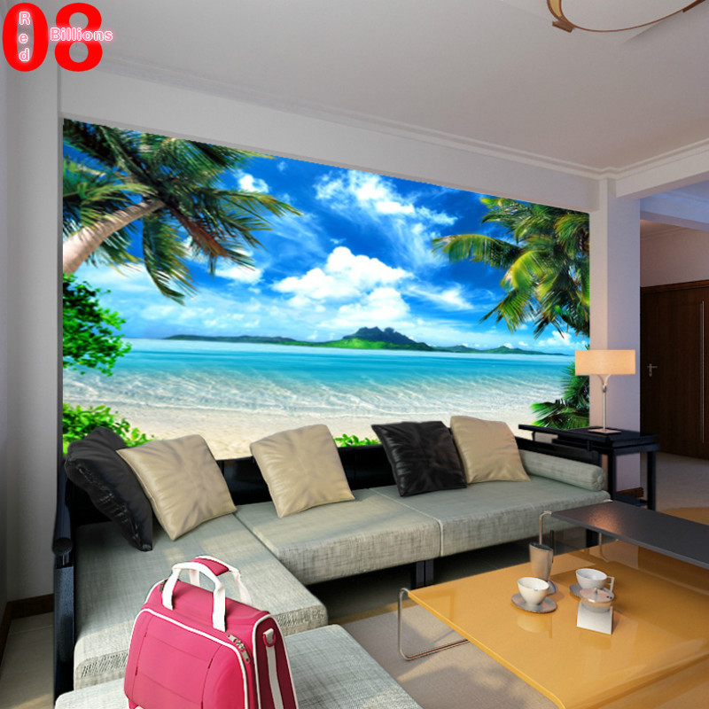 Tv Background Wall 3d Wall Murals Wallpaper Southeast Asia