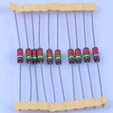 10pcs Carbon Composition vintage Resistor 0.5W 1.2K ohm 5 % 10pcs carbon composition vintage resistor 0 5w 2 2m ohm 5