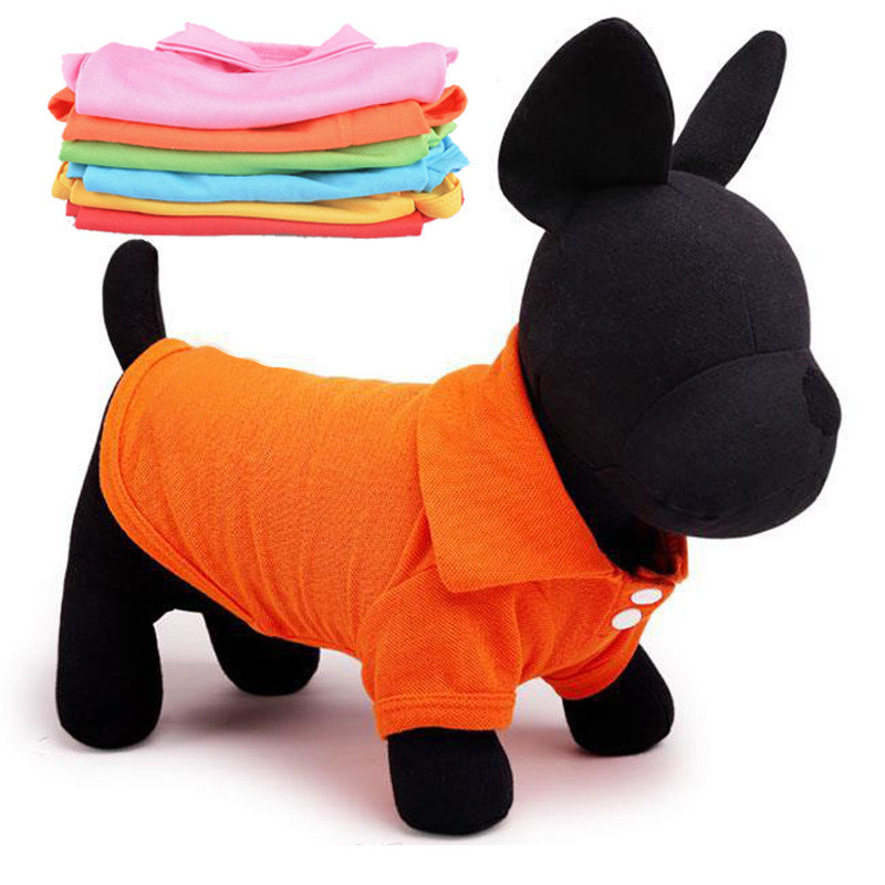VUGSUCE-Pet-Dog-Clothes-Polo-Shirt-for-Small-Dogs-Cats-Classic-T-shirt-Puppy-Clothes-Costume