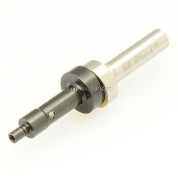 Прецизионный маленький Немагнитный механический эхолот из черного титана, датчик точки касания для станка с ЧПУ