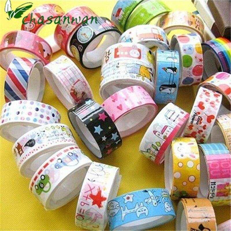 21pcs Lot My Neighbor Totoro Washi Tape 10meter Bio Corner Decor Tapes Pda Paper