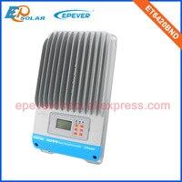 36 В 60A контроллер MPPT жидкокристаллический дисплей солнечный отслеживания регулятор ET6420BND eTracer серии Max 48 В 60 ампер EPEVER бренд