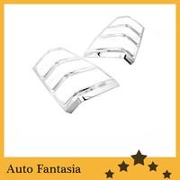 Chrome Tail Light Cover for Suzuki Grand Vitara 05 12 Free Shipping