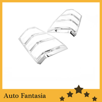 Chrome Tail Light Cover for Suzuki Grand Vitara 05 12 Free Shipping
