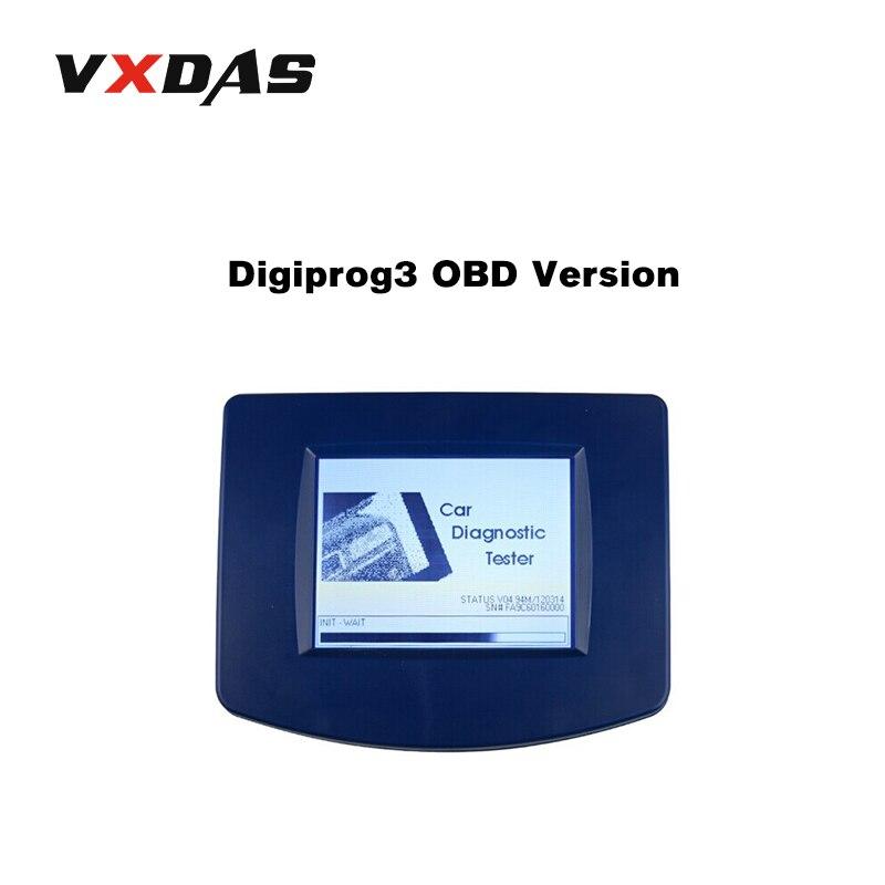 Digiprog III V4.94 Digiprog 3 Odometer Programmer With OBD2 ST01 ST04 Cable OBD Version Digiprog3 Mileage Correction Tool VXDAS
