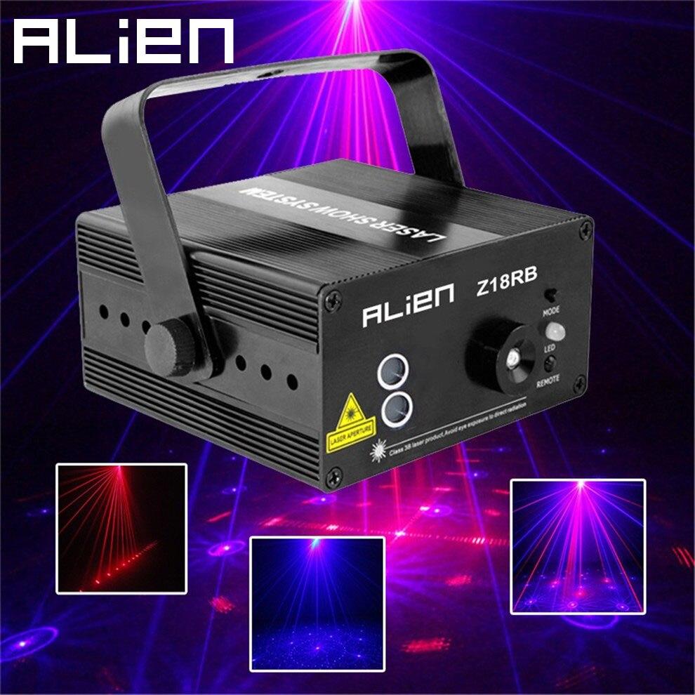 Kerstfeest lichten led laser projector rood blauw podiumverlichting ...