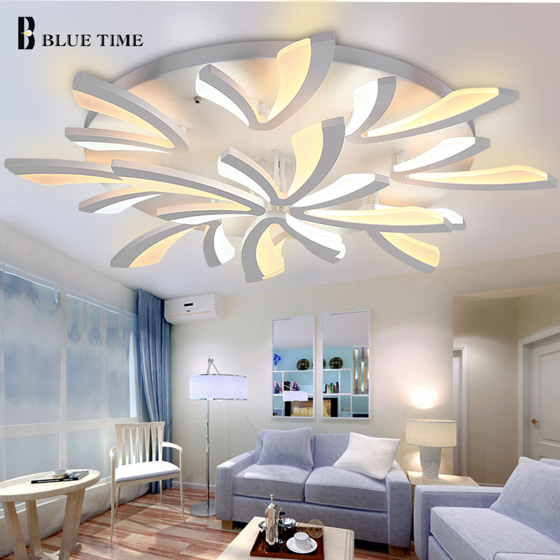 Popular Modern LED Ceiling Lights AC110V 220V Acrylic Led Ceiling Lamp For Living room Bedroom Dining room Home Light FixturesPopular Modern LED Ceiling Lights AC110V 220V Acrylic Led Ceiling Lamp For Living room Bedroom Dining room Home Light Fixtures