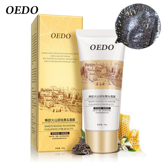 Volcanic Soil Facial Mask Acne Remove Blackhead Mite Propolis Face Care Treatment Repair Whitening Cream Skin Care Moisturizing