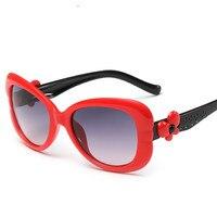 2017 new children anti-ultraviolet glasses children's fashion Vintage Magnesium Design UV400 Women Brand Eyeglasses sunglasses