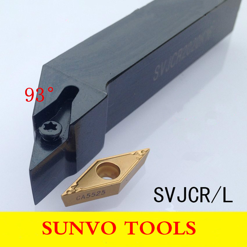 SVJBR/SVJBL 2020K11/2020K16 Use Carbide Insert VCBT VCMT VCGT 110304/110308/160404/160408 External Turning Tools Holder best price mgehr1212 2 slot cutter external grooving tool holder turning tool no insert hot sale brand new