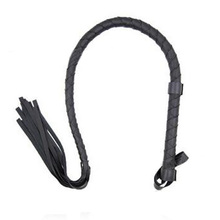 85CM BDSM Fetish Leather Tassels Flogger Whip, Riding Horse Whip,Spanking BDSM Bondage