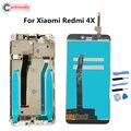 ЖК-дисплей для Xiaomi Redmi 4X  сенсорная панель  ЖК-дисплей  дигитайзер  модуль с рамкой в сборе  запасные части