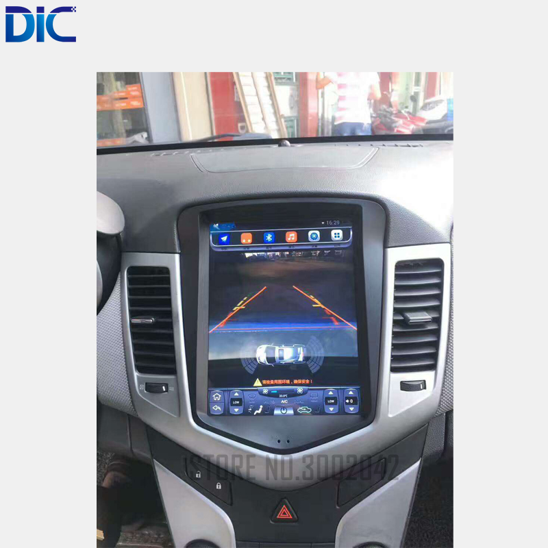Android 6 0 GPS navigation player Car Styling ROM32G radio vertical screen bluetooth WIFI for Chevrolet