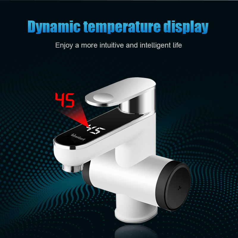 220V Kitchen Electric Water Heater Tap Instant Hot Water Faucet Heating  Faucet 3000W EU UK plug