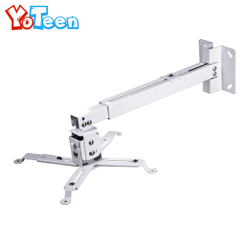 universal led projector ceiling mount wall bracket stretch holder yg300 uc46 uc40 projector holder stand hanging - Projector Wall Mount