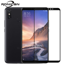 Xiaomi mi max 3 glas gehärtetem ronican ORIGINAL xiaomi max mi max 3 screen protector full cover schützende front film mi max 3 pro glas