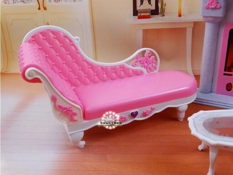 Livraison gratuite fille en plastique anniversaire Play Set meubles - Poupées et accessoires - Photo 5
