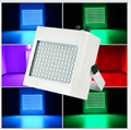 Высокая яркость 108 LED Стробоскоп Авто Режим голосового управления Регулируемый контроль скорости вспышки RGB 108 шт SMD5050 стробоскоп для диджея
