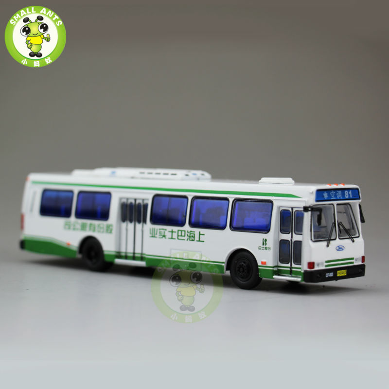 1 76 America Flxible Bus China ShangHai Bus NO 81 Diecast Bus Car Coach Models