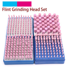 100pcs Abrasive Stone Points Polishing Grinding Head Electric Drill Bit Wheel For Dremel Rotary Accessories Power Tools