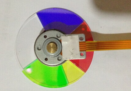 Projector Color Wheel For OPTOMA DM132 DT683 EX765 projector color wheel for optoma x303 free shipping