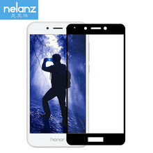Nelanz Tempered Glass For Huawei Honor 6A 6 A DLI-TL20R Screen Protector For Huawei Honor 6A Protective Glass Flim Full Cover 9H