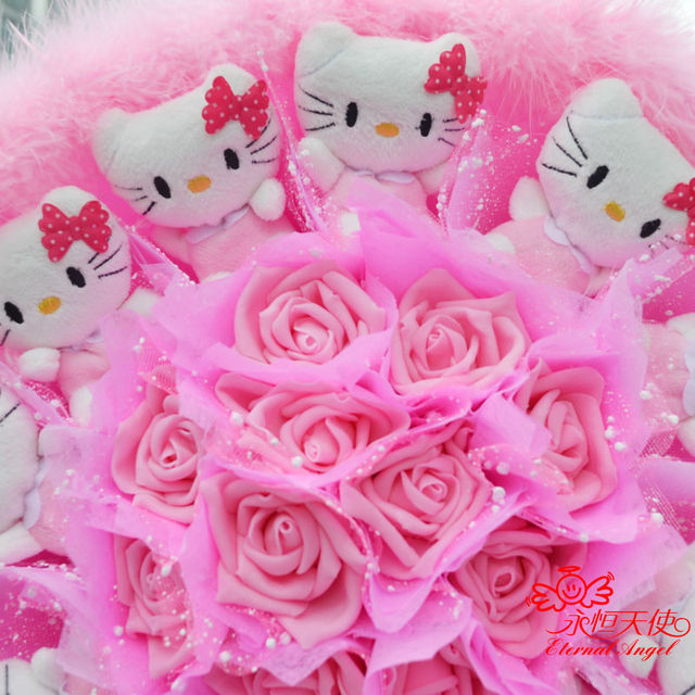 Online Shop New hot sale handmade Wedding Festival Gift Cute Kitty ...
